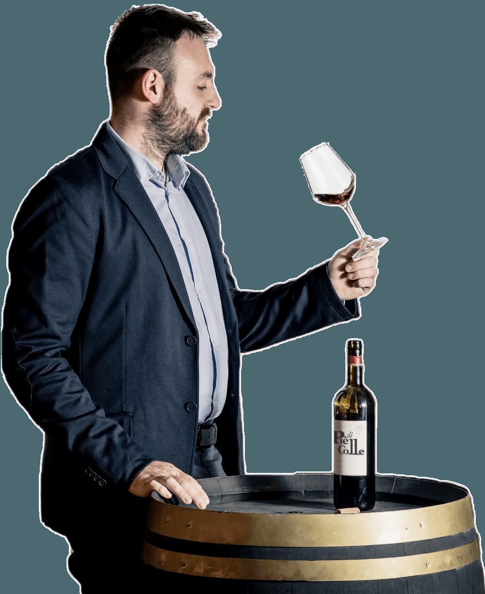 """Chi siamo: Informazioni sull'azienda vinicola """"Piè di Colle"""" 1"""